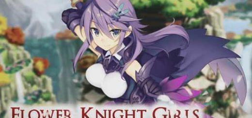 Брузерная игра Flower Knight Girl аниме