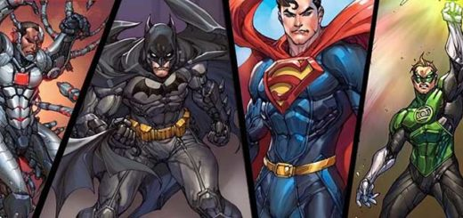 Анонс мобильного экшена DC Unchained